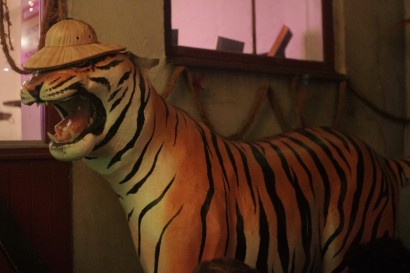 when travelling in sweden, it's important to bring a safari hat in case you meet a tiger.